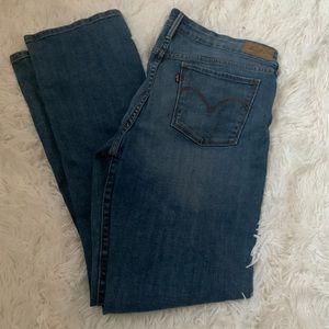 Levi's San Francisco straight leg jeans
